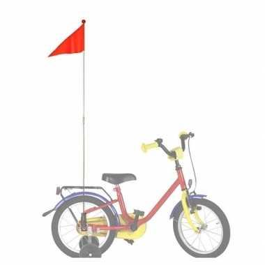 Bike fun fietsvlag oranje