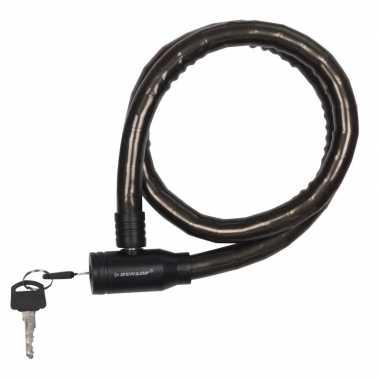 Fiets kabelslot zwart 80 cm