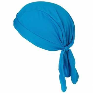 Sport bandana volwassen blauw