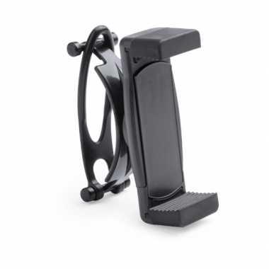 Universele mobiele telefoon houder voor fiets zwart