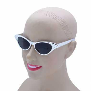 Zilveren feestbril voor volwassenen