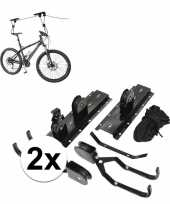 2x fietslift fiets ophangsysteem tot 4 meter