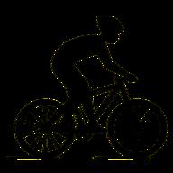 Groen fietsslot 120 cm